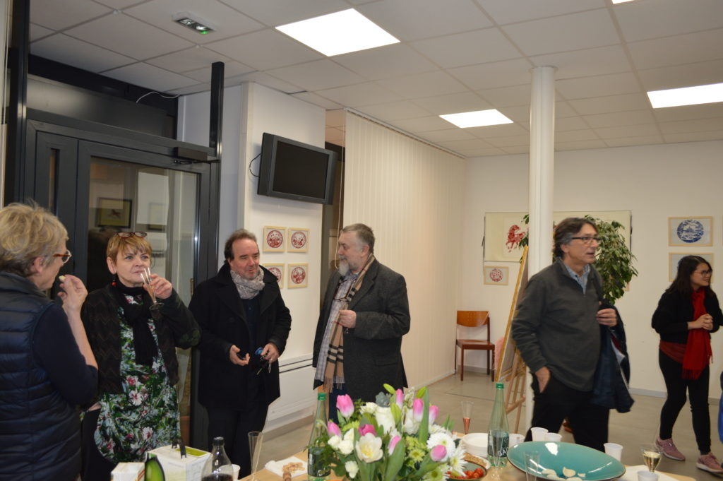 Inauguration galerie ASIEMUT